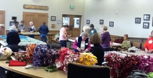 Volunteers and Blankets in Sisters City Email.